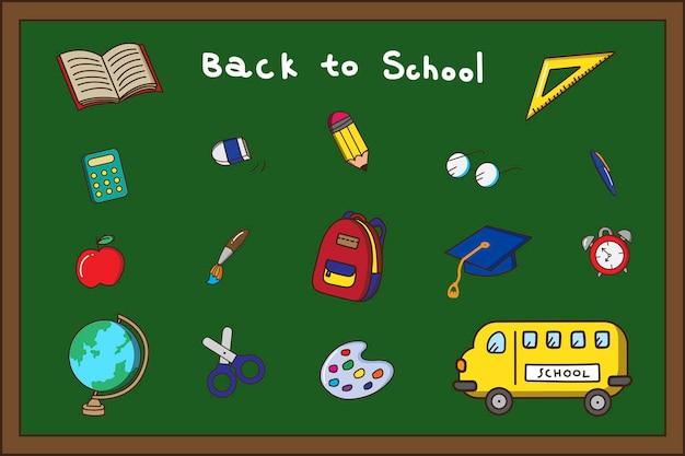 Papelaria de volta à escola