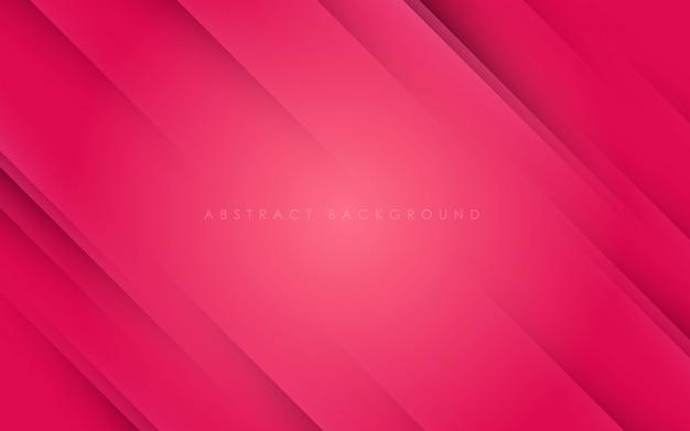 Papercut diagonal abstrato rosa