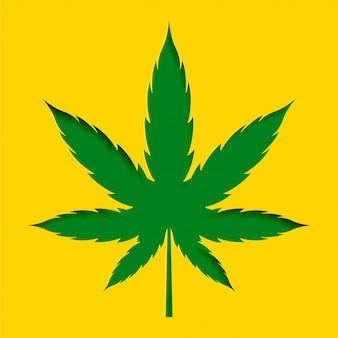 Papercut estilo maconha cannabis folha projeto fundo