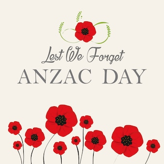 Papoula de papel decorativo para anzac day