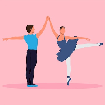 Par de bailarina