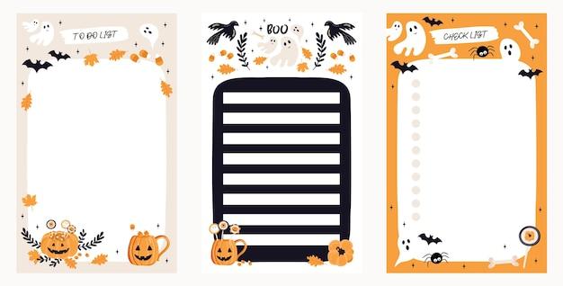 Para fazer a lista definida com elementos de halloween.