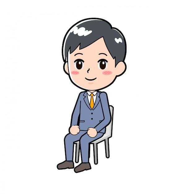 Para fora da linha businessman_sitting-chair