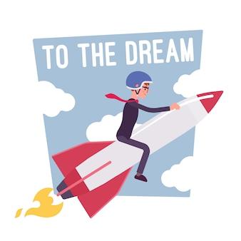Para o cartaz de motivação dos sonhos