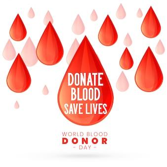 Para o dia mundial do doador de sangue