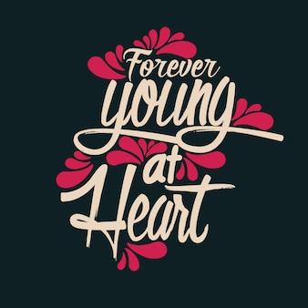 Para sempre jovem no coração