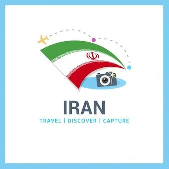Para viajar logotipo irã
