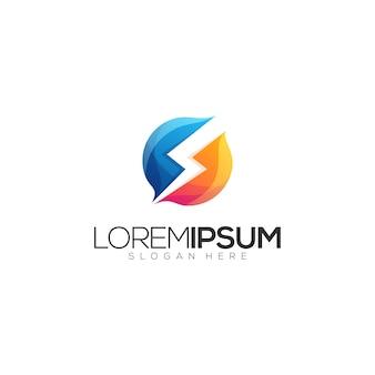 Parafuso design de logotipo premium impressionante