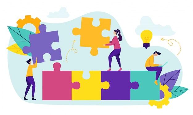 Parceiro de negócios jovens trabalhando juntos
