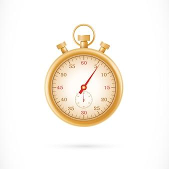 Pare a ilustração do relógio