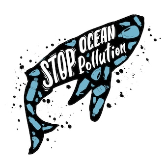 Pare a poluição do oceano