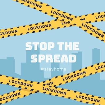Pare a propagação do coronavirus