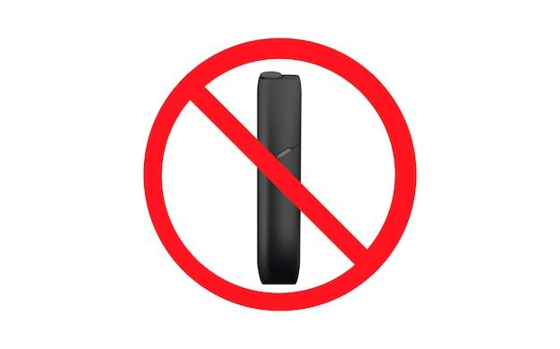 Pare de cigarro eletrônico pare de fumar dispositivo branco aquecendo sistema de tabaco mais novo eletrônico