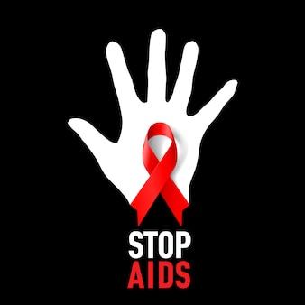 Pare de sinal de aids.