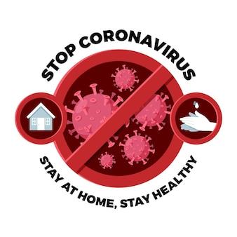 Pare o conceito de coronavírus