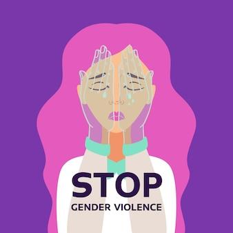 Pare o conceito de discriminação de violência de gênero