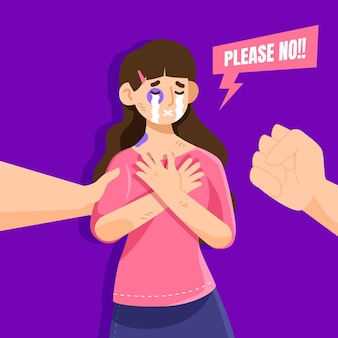 Pare o conceito de violência de gênero