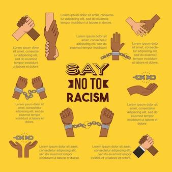 Pare o racismo