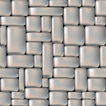Parede de pedra lisa cinza perfeita