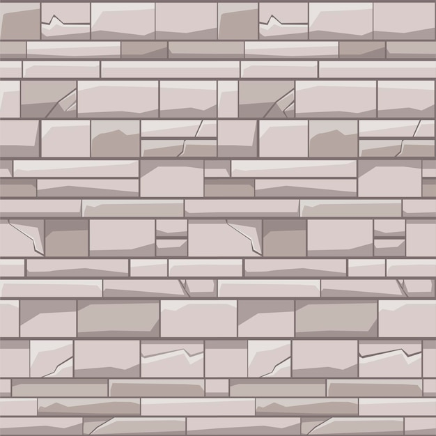 Parede de tijolo de padrão uniforme
