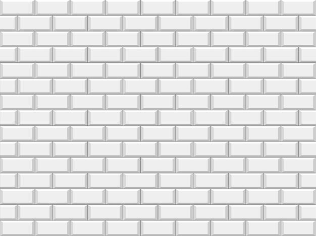 Parede de tijolo estrutural branco abstrato