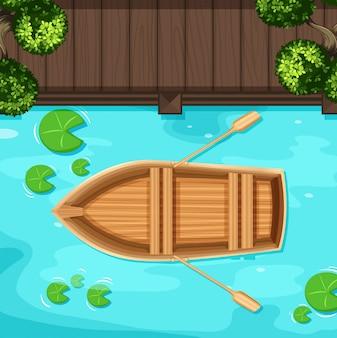 Parque e barco