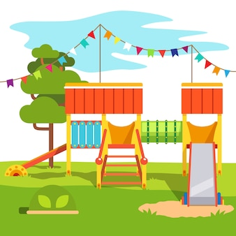 Parque infantil infantil parque infantil slide