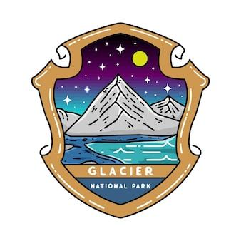 Parque nacional glacier monoline