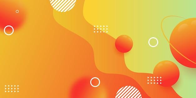 Parte da tela do site criativo horizontal para o desenvolvimento de projetos de web design responsivo. layout de banner de padrão geométrico abstrato simulado. modelo de ilustração vetorial de bloco de página de destino corporativa