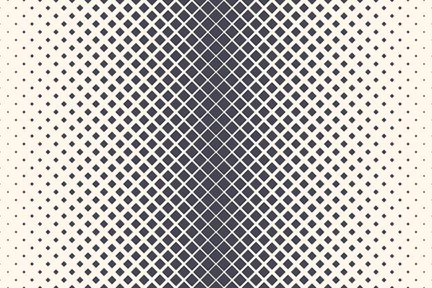 Partículas de losango com textura de meio-tom abstrato geométrico fundo de tecnologia