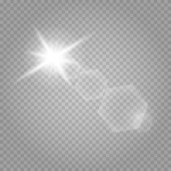 Partículas de poeira mágica cintilante. estrela brilhante.