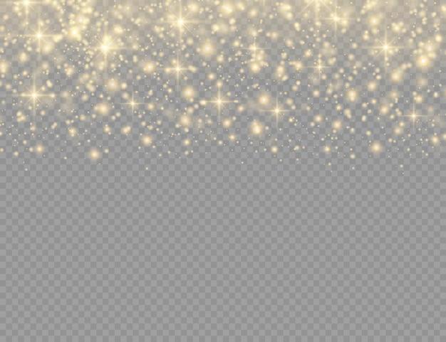 Partículas de poeira, raios de luz. raios brilhantes de poeira