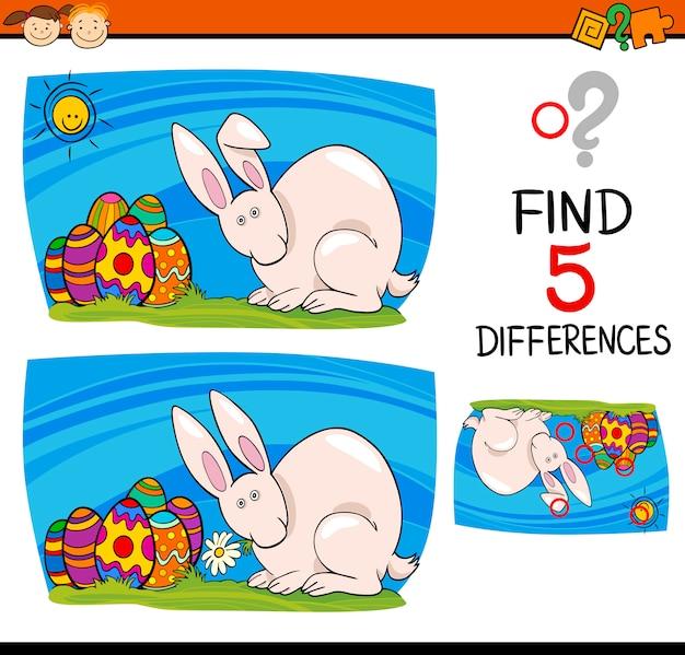 Páscoa tarefa de diferenças