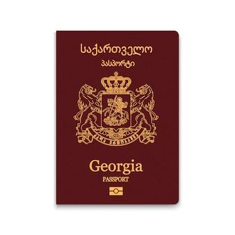 Passaporte da capa da geórgia