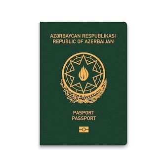 Passaporte da capa do azerbaijão