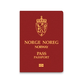 Passaporte da noruega