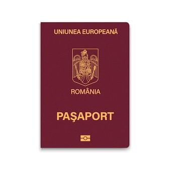 Passaporte de capa da romênia