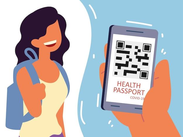 Passaporte de saúde para viagens