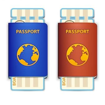 Passaportes de viagem