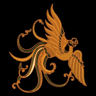 Pássaro batik