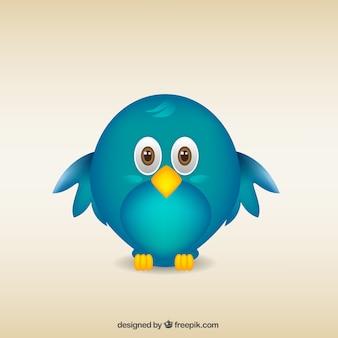 Pássaro dos desenhos animados