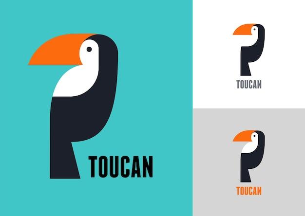 Pássaro tropical tucano