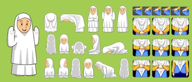 Passo a passo realizando oração salah para mulheres