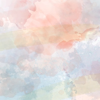 Pastel de aquarela
