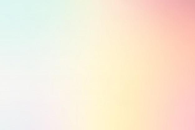 Pastel multi color gradient background
