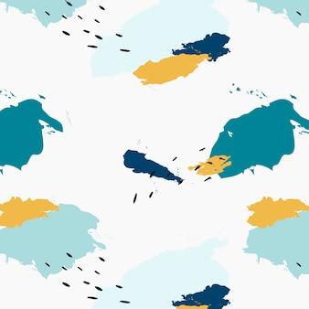 Pastel padrão de design de memphis vector