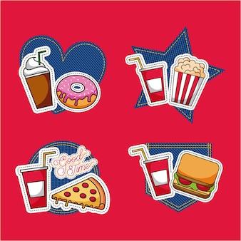 Patches de fast food