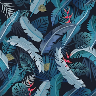 Pattern tropical summer