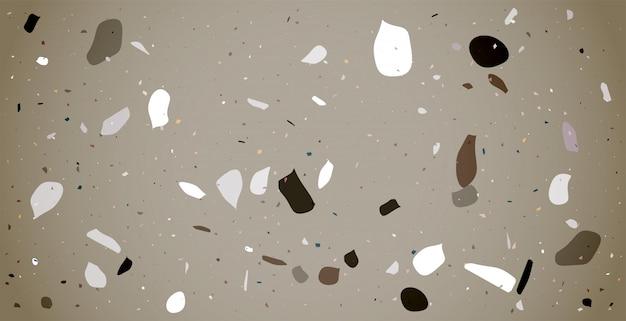 Pavimento em mosaico clássico padrão design de plano de fundo de textura