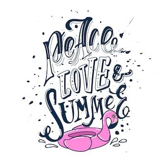 Paz amor e verão